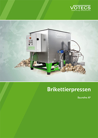 VOTECS Brikettierpresse